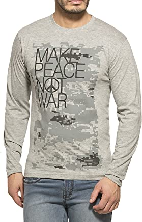 Alan Jones Clothing Men's Cotton T-Shirt (Stc-Peace-P)
