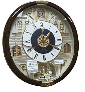 Best seiko melodies in motion wall clock qxm371brh Reviews