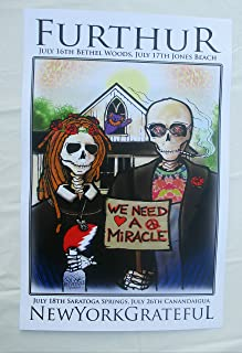 2011 Furthur New York We Need A Miracle Concert Poster