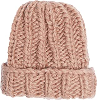 Hand Knit Soft Merino Wool Boho Beanie Skull Cap