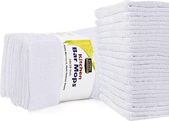 Utopia Towels Kitchen Bar Mops Towels