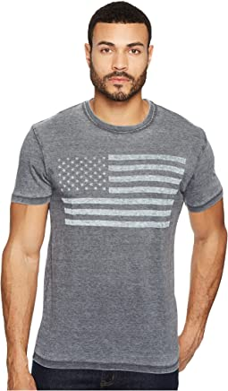 Lucky Brand - USA Flag Graphic Tee