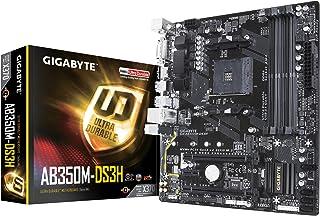 Gigabyte GA-AB350M-DS3H AMD X370 Zócalo AM4 Micro ATX - Placa Base (DDR4-SDRAM, DIMM, 2133,2400,2667 MHz, Dual, 64 GB, AMD)