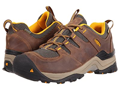 Keen Gypsum II Waterproof (Shitake/Golden Yellow) Men
