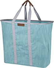 CleverMade Collapsible Laundry Tote Bag - Premium Pop-Up Utility Storage Basket with Handles - Extra Large Foldable Clothe...