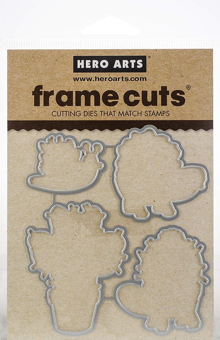 Hero Arts Paper Layering Dies Cactus Animals Frame Cuts