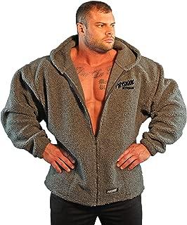 Massive Men's V-Tapered Bodybuilder Hoodie Jacket. Made in USA