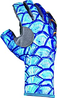 Buff Pro Series Angler 3 Gloves (DeYoung Tarpon Scales, L/XL)