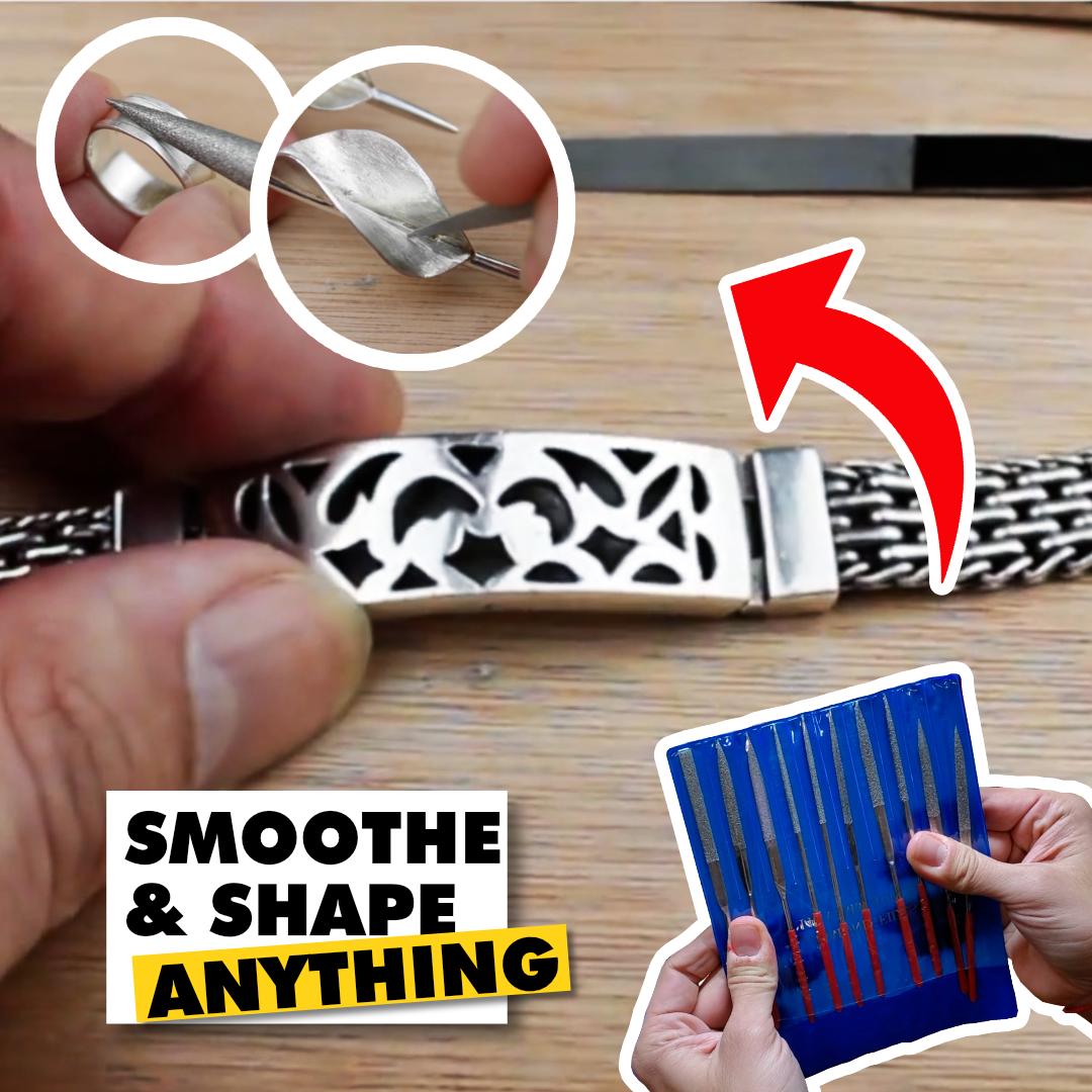 5 in Length Single Cut Triangular Slim Taper Shape Nicholson American Pattern File 24 Units