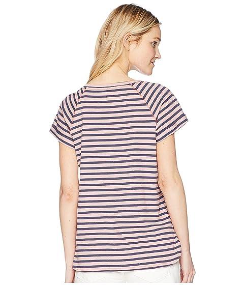 rayas manga Columbia Pink Camisa corta a Blush Shaker de Stripe Trail Heather Nocturnal aXxAwAI5