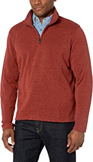 Authentics Men's Sweater Fleece Quarter-Zip
