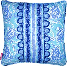Lilly Pulitzer Indoor/Outdoor Large Decorative Pillow, Turtley Awesome