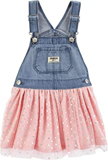 Baby Girls' World's Best Overalls