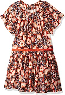 Gymboree Girls' Big Short Sleeve Casual Woven Dress