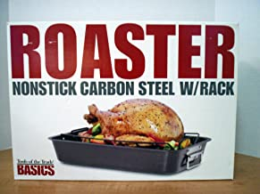 Tools of the Trade Basics Roaster Nonstick Carbon Steel W/Rack