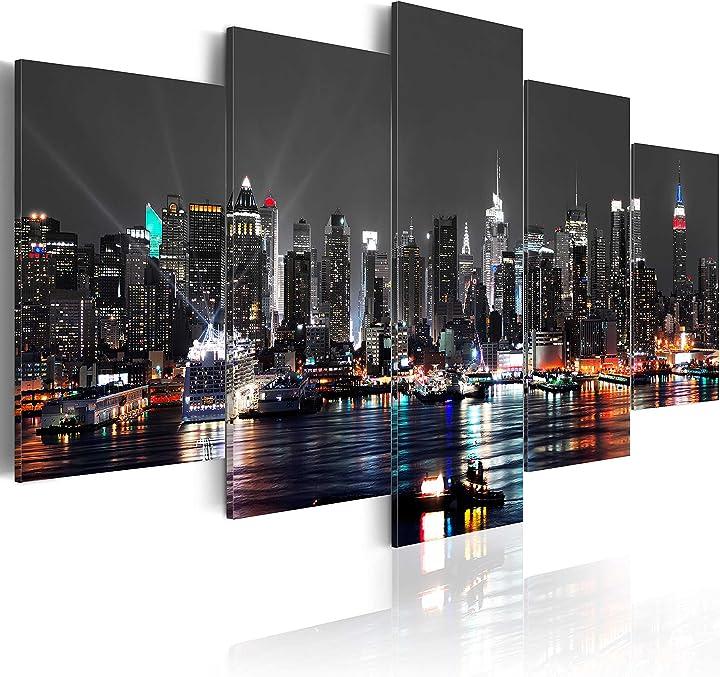 Quadro su vetro acrilico200x100 cm - 5 parti quadro moderno b&d xxl murando d-A-0022-k-n