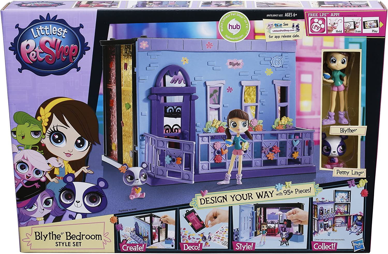 Amazon Com Littlest Pet Shop Blythe Bedroom Style Set Toys Games