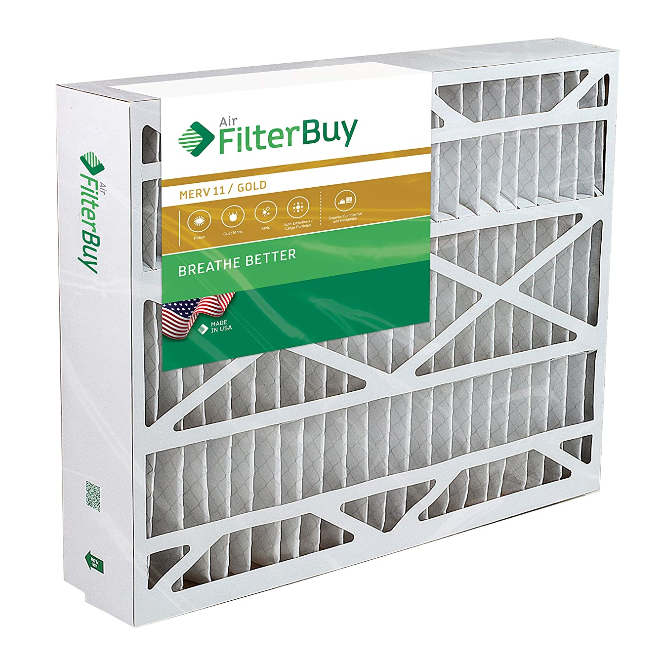 21x27x5 Trane Perfect Fit BAYFTFR21M Aftermarket Furnace Filter/Air Filter - AFB Gold (Merv 11). (1 Pack)