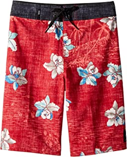 Vans Kids Hawaii Floral Boardshorts (Little Kids/Big Kids)
