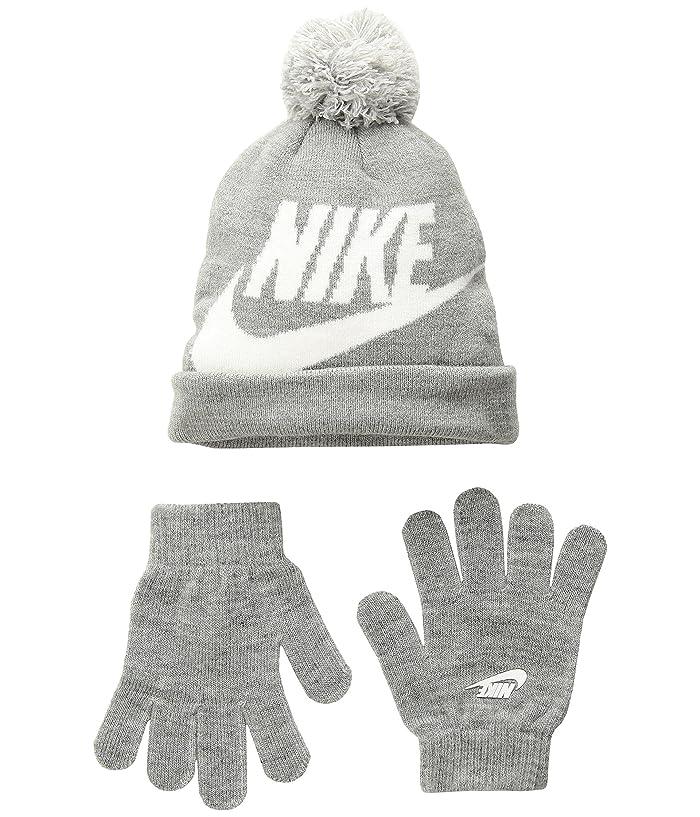 f35e3e11d Nike Kids Swoosh Pom Beanie Gloves Set (Little Kids/Big Kids) at 6pm