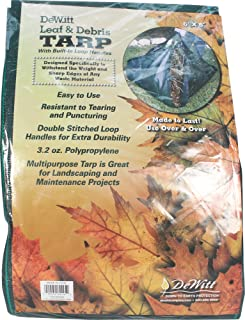 Leaf & Debris Tarp with Handles On 4 Corners