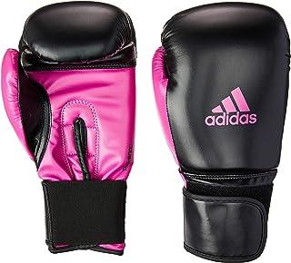 Luva Power 100 SMU Colors, Adidas, Preto e Rosa