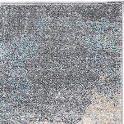 Safavieh Jasper Collection JSP114 Tapis d'intérieur Abstrait tissé rectangulaire Gris/doré 122 x 183 cm pour Salon, Chambre à Coucher ou Tout Espace intérieur