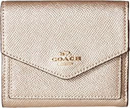 COACH - Small Wallet in Metallic Leather