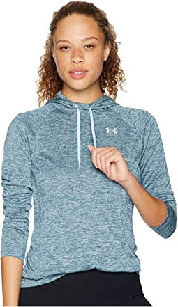 Tech Long Sleeve Twist Hoodie