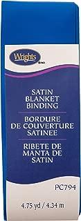 Wrights 117794672 Single Fold Satin Blanket Binding, 2