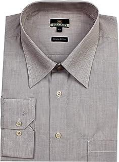 Mens Formal Shirts Cotton, Long Sleeves Size 3XL Regular Fit,MENS SHIRTS