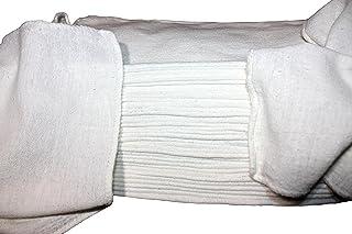 ATLAS Towels ホワイトショップタオル - (2500のベール4本=10000) - サイズ 13 x 13インチ - 商用グレード - 再利用可能、洗濯可能、100%コットンクリーニングクロス - メカニック、ガレージ、ショップ、バ...