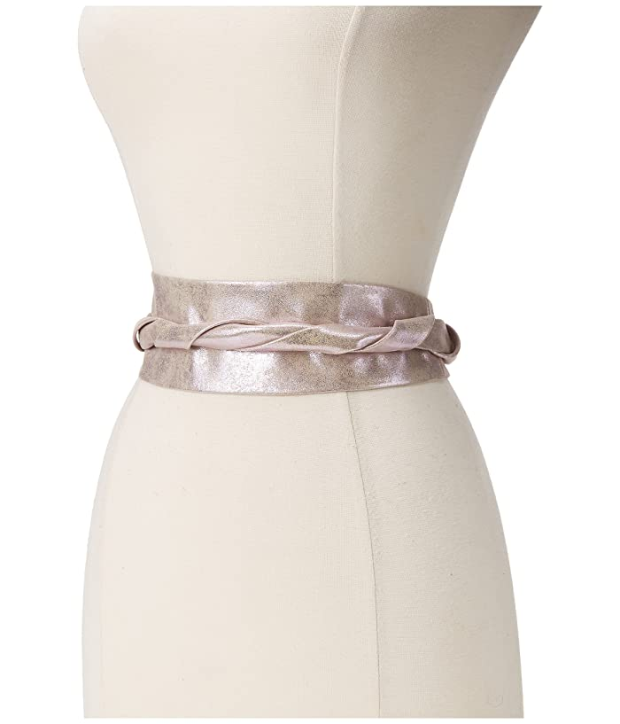 ADA Collection Obi Classic Wrap Belt (Pink Shimmer) Women