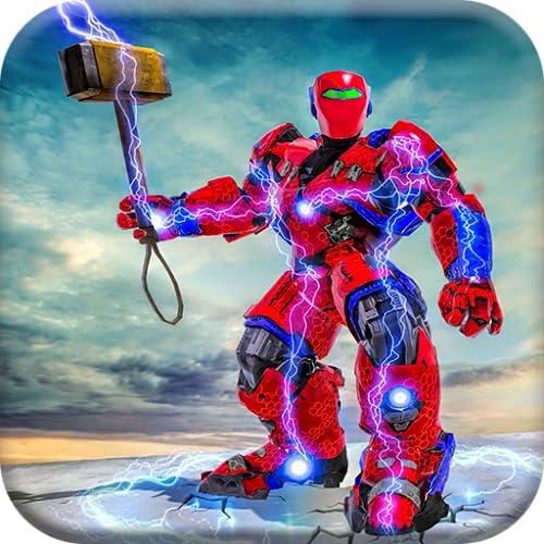 US Police Hammer Robot Fighting Robot War Game,robots, wars, rampage, hammer, fighting, hero, robotics, US, police, action, games, combat, battle, shotting, warriors, cop, super, robo, real, steel, futuristic, multi, survival, transformation,2018