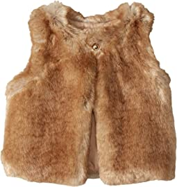 Sleeveless Faux Fur Vest (Little Kids)