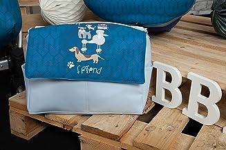 Babyline Dogs - Bolso de silla de paseo, color azul