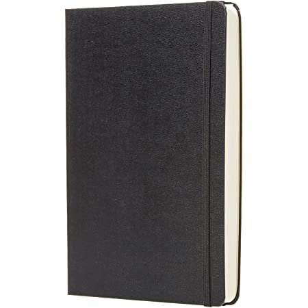 """Amazon Basics Daily Planner and Journal - 5.8"""" x 8.25"""", Hard Cover"""