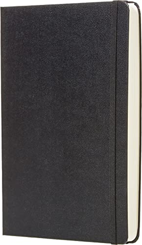 AmazonBasics Daily Planner and Journal (6 Months)- 5.8 x 8.25 inches - Hard Cover