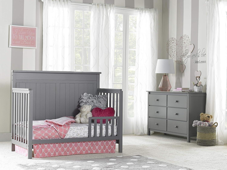 19 Fisher-Price Toddler Guardrail Barn Grey