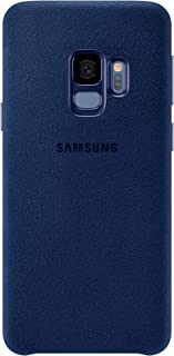Official OEM Samsung Galaxy S9 Alcantara Cover (Blue)