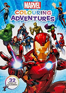 Marvel: Colouring Adventures