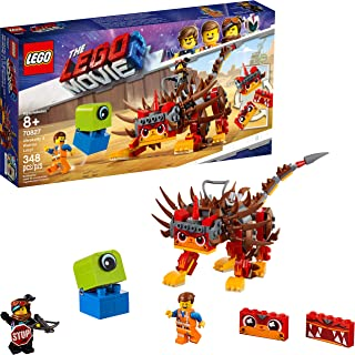 LEGO THE LEGO MOVIE 2 Ultrakatty & Warrior Lucy! 70827 Action Creative Building Kit for Kids, 2019 (348 Pieces)