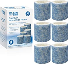 Fette Filter - Premium Humidifier Wicking Filters with Extra Treated Protective Layer Compatible with Honeywell HC-888, HC...