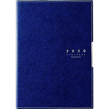 高橋 手帳 2020年 4月始まり B6 マンスリー ディアクレール 4 ネイビー No.625