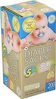 Green N Pack Easy-Tie Baby Diaper Sacks