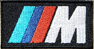 BMW Motorsport M Sport M3 Logo Sign Car Racing Patch Iron on Applique Embroidered T shirt Jacket Custom Gift BY SURAPAN