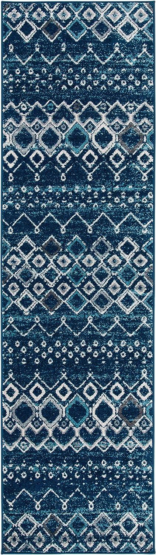 SAFAVIEH Amsterdam Collection Max 90% OFF AMS108N Moroccan Boho Non-Shedding Wholesale