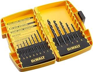 DEWALT DW1163 Black Oxide Split Point Twist Drill Bit Assortment, 13-Piece