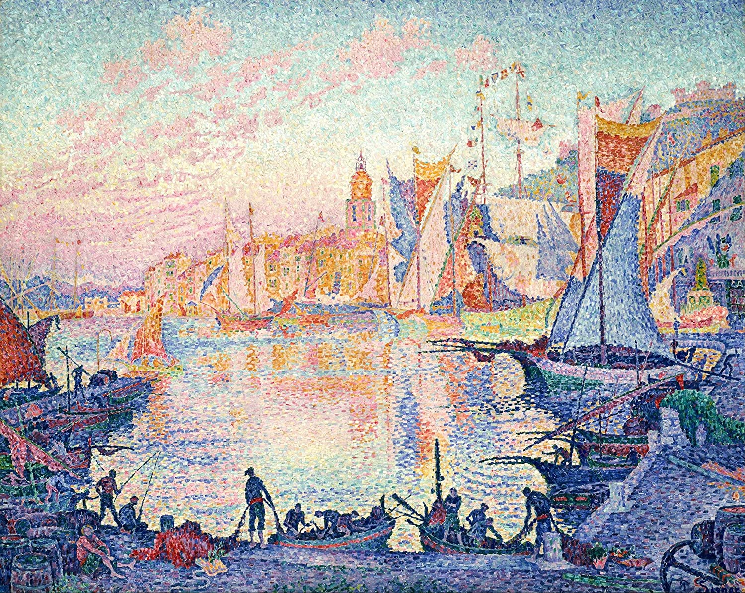 1500 Piece Puzzles for Adults - Selling and Large special price !! selling Ship Paul Signac by Port The in