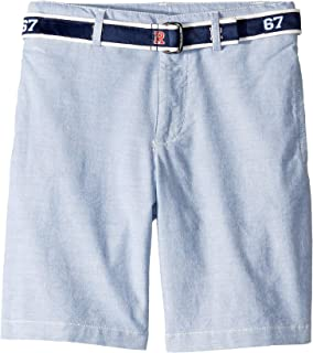[Polo Ralph Lauren(ポロラルフローレン)] キッズショーツ?短パン Slim Fit Belted Stretch Shorts (Little Kids) [並行輸入品]